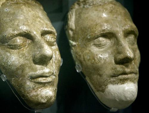 ジョセフ・スミスとハイラム・スミスのデスマスク