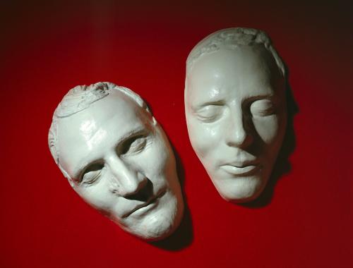 200年ほど前まで作られていたデスマスク、ジョセフ・スミスとハイラム・スミス